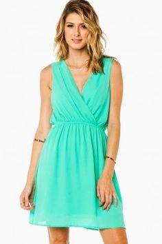 Keeley Dress in Mint