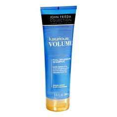 JOHN FRIEDA Luxurious Volume Thickening Shampoo Shampoo con tecnología patentada full splendor compuesta por ingredientes que penetran en la fibra capilar, reparando las zonas dañadas, rellenando los poros que causan la pérdida de densidad en el cabello, dando volumen y movilidad. Thickening Shampoo, Hair Care, Conditioner, Hair Makeup, Soap, Personal Care, Beauty, Fiber, Hair Conditioner