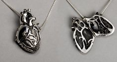 Heart locket: Great gift idea for a Tele Nurse or Cardiologist #BlingBling #NursingSchool #Heart #Locket #Cardiology