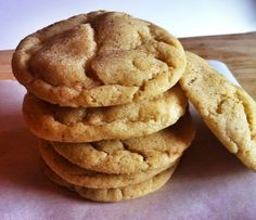 Chai Browned Butter Snickerdoodles - made Dec 2013, delicious and easy!!! Double the spice in cookie dough next time. Dough will be crumbly and hard to roll into balls. SS