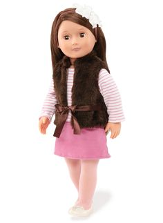 Sienna | Our Generation Dolls - brought these for my GU girls in '14, and for Iris in HO in '15. LOVE the extra outfits you can buy.