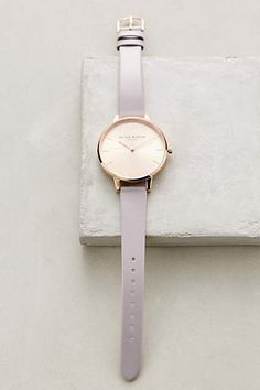 Big Dial Lilac Watch - #anthrofave