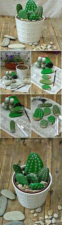 Criatividade com pedras