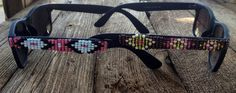 Hand beaded glasses made by Kristen Duecker A great accessory for any outfit!
