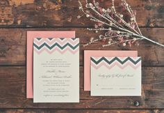 Chevron Affordable Wedding Invitations, Envelope, Chevron, Wedding Ideas, My Style, Cards, Envelopes, Playing Cards