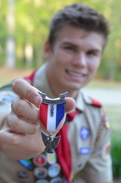 Eagle Scout Way to Go!  So Proud of You!