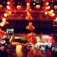 Chinatown in kuala lumpa Malaysia