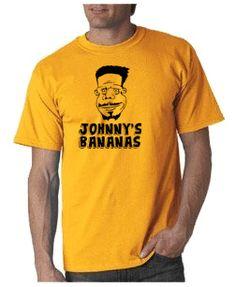 Johnny's Bananas T-shirt from DesignerTeez