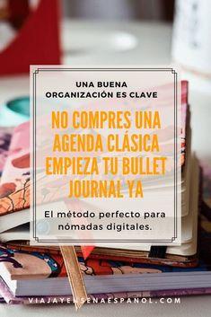 BULLET JOURNAL-La mejor agenda para profes online Journal Pages, Journal Ideas, Journals, Instagram Tips, Success, How To Plan, Digital, My Love, Words