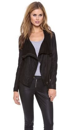 Muubaa Sinoia Leather Jacket // beauty. way out of my budget, but so purty