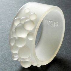 Geyser Bracelet Small Clear now featured on Fab.