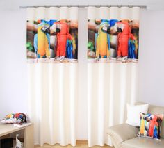 Záves na okno biely s papagájmi Shoe Rack, Entryway, Furniture, Home Decor, Entrance, Decoration Home, Room Decor, Shoe Racks, Door Entry