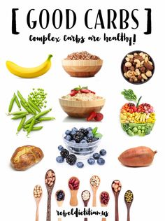 Good Carbs - Complex Carbs are Healthy! | rebelDIETITIAN.US