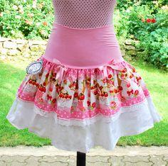 Pink Sundae skirt  and sweets. $50.00, via Etsy.