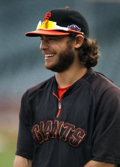 brandon crawford - such a cutie, and an awesome short-stop!