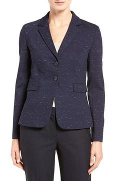 Free shipping and returns on Classiques Entier® Ponte Suit Jacket at Nordstrom.com. Expertly tailored for a flattering fit, a polished two-button jacket gets a touch of textural interest from a slubbed ponte knit.