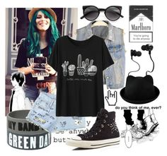 """Burst into flames, scream in the dark, I'm gonna light up this place and die in beautiful stars"" by natsuko-yuuki ❤ liked on Polyvore featuring мода, Monster, Retrò и Converse"