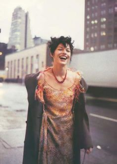 Milla Jovovich photographed by Paolo Roversi - Vogue Italia: April 1997