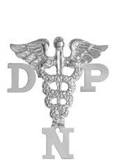 NursingPin - Doctor of Nursing Practice DNP Graduation Nursing Pin in Silver NursingPin.com. $24.99