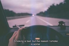 smoking is bad,but the reason is worse...