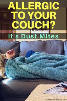 Itchy while sitting on your couch? Do you get a rash? If you're like me you might have a dust mite allergy. I had to switch to leather or synthetic couches or use a freshly washed blanket. Learn more about couches, fabric, and allergies. Asthma Remedies, Asthma Symptoms, Allergy Symptoms, Dust Mite Allergy, Free Couch, Clean Couch, Household Pests, Asthma Relief, Cool Couches