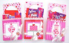Doodlebug Design Inc Blog: Tuesday Tutorial: Valentine Door Hanger Treat Holders by Tiffany