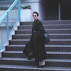 Tokyo black look Tomboy Fashion, Girl Fashion, Fashion Outfits, Womens Fashion, Style Fashion, Tomboy Stil, Estilo Rock, Meet Girls, Tokyo Street Style