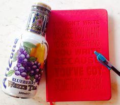 Tea+notebook=inspiration