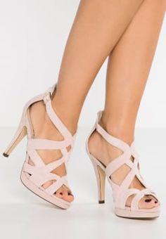 Pier One - Sandales à talons hauts - pink Sandales Nu Pieds, Chaussures  Femme, b68211b13cea