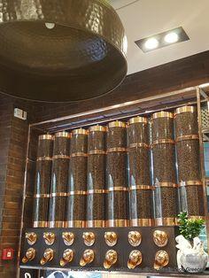 Ματσούκα - Le Chocolat - Vintage handmade Copper Coffee Bean Silo By StudioNioti