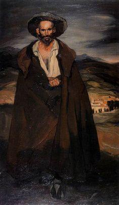Segoviano by Ignacio Zuloaga y Zabaleta,(Spanish 1870-1945)