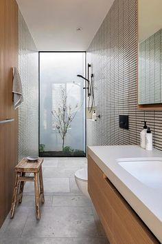 Bathroom Interior Design, Home Interior, Interior Design Living Room, Interior Architecture, Zen Bathroom Design, Interior Paint, Bad Inspiration, Bathroom Inspiration, Interior Inspiration