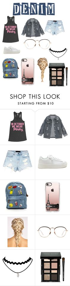 """""""Untitled #395"""" by jermiahwalters ❤ liked on Polyvore featuring Alexander Wang, Casetify, Linda Farrow and Bobbi Brown Cosmetics"""