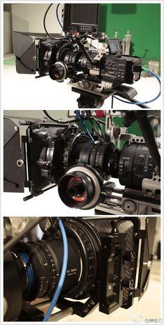 @movcam #FS700 RIG & #mattebox MM-1 #followfocus MF-2