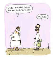 """""""Jesuslatschen"""" by comicpiero #cartoon #funny"""