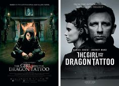 The Girls With the Dragon Tattoo [original vs. remake]
