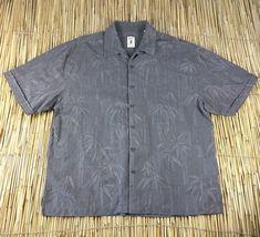 5cd5500f4 JAMAICA JAXX Hawaiian Casual Shirt 2X XXL Mens Silk Tropical Print Aloha