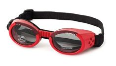 052642549e Doggles Dog Goggles ILS LARGE RED SHINY -- For more information