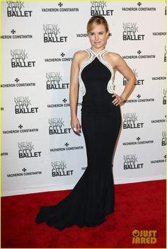 Kristen Bell is Belle of the New York City Ballet Spring Gala 2014