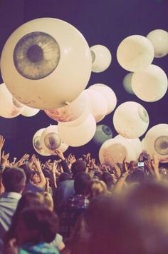 Coachella - eyeballs in the sky