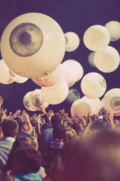 Coachella - eyeballs in the sky