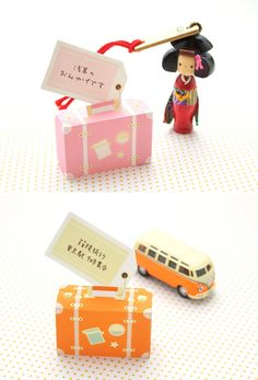 FREE printable mini paper suitcase