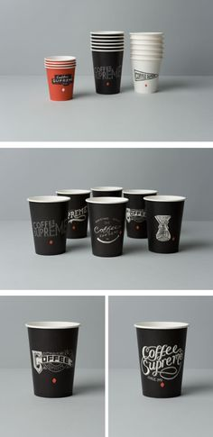 Coffee Supreme Cup Packaging