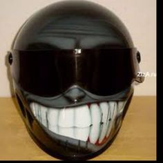 One bad ass skydive helmet.
