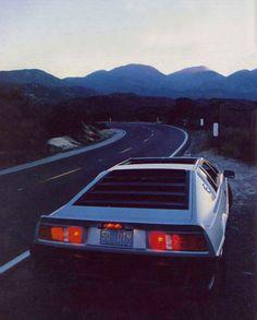 Future  That;s a Lotus Esprit, not a DeLorean!