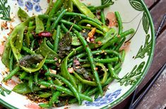 Green beans with sage almond butter - you can make it Whole30 if you go with the ghee!