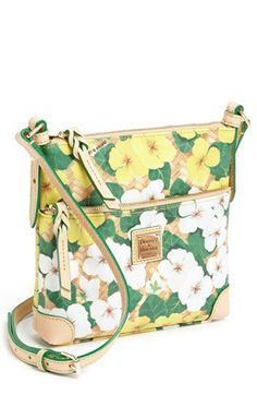 Dooney & Bourke 'Letter Carrier' Leather Crossbody Bag available at #Nordstrom