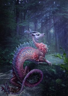"♥ ""Water Dragon"" de Vasylina Holodilina"