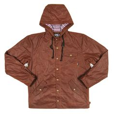 Wax Parka slim fit and ages like leather