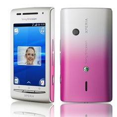 Sony Ericsson X8 White Pink E15I